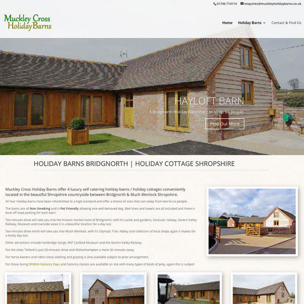 Muckley Holiday Barns Bridgnorth