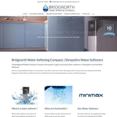 Bridgnorth Water Softener Company