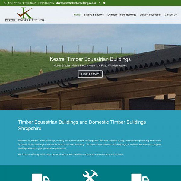 Kestrel Timber Buildings