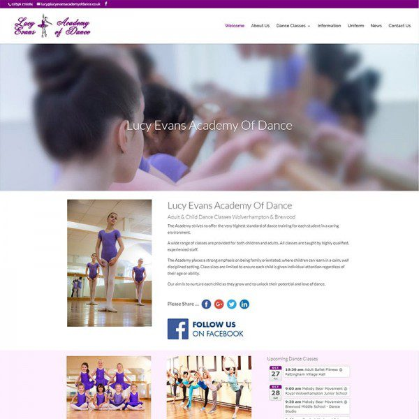 Lucy Evans Academy Of Dance