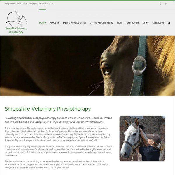 Shropshire Veterinary Physiotherapy