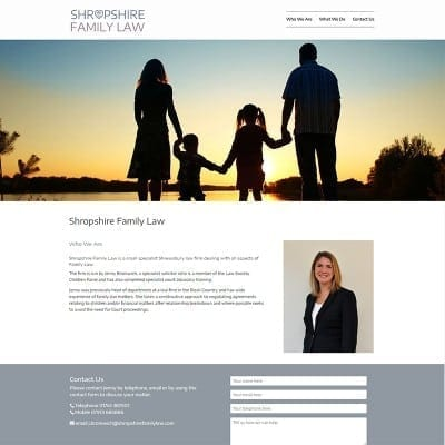 shropshire family law