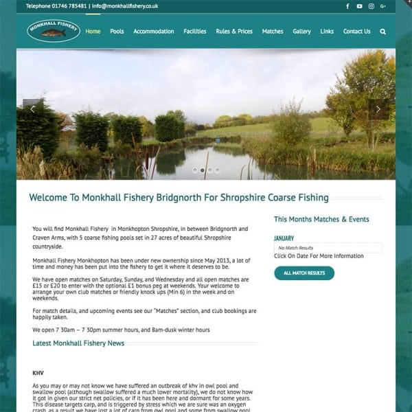 Monkhall Fishery