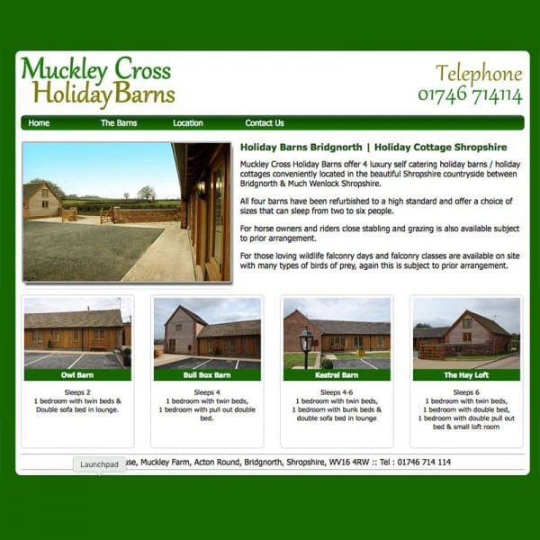 Muckley Cross Holiday Barns