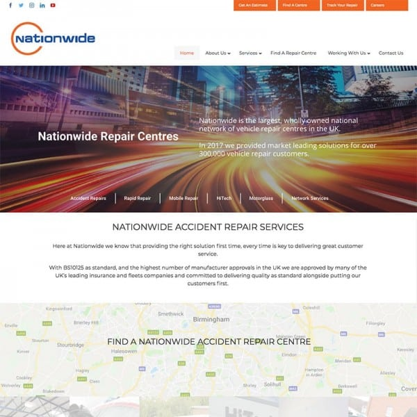 nationwide accident repairs