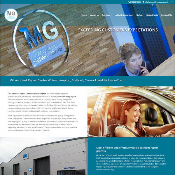 MG Accident Repairs