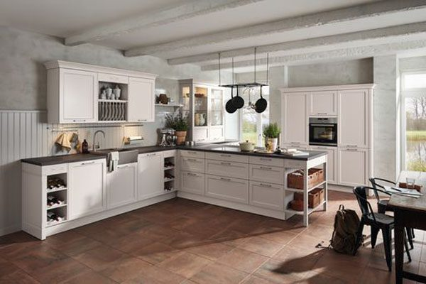 A large Image of German Classic Kitchen
