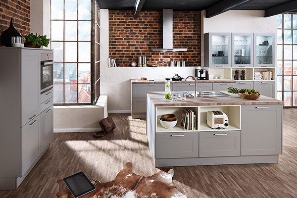 A large Image of German Traditional Kitchen