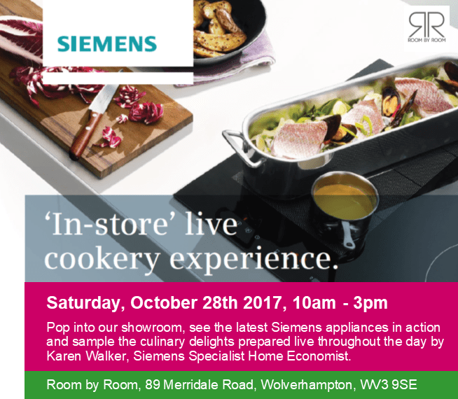 'In Store' Live Cookery Experience