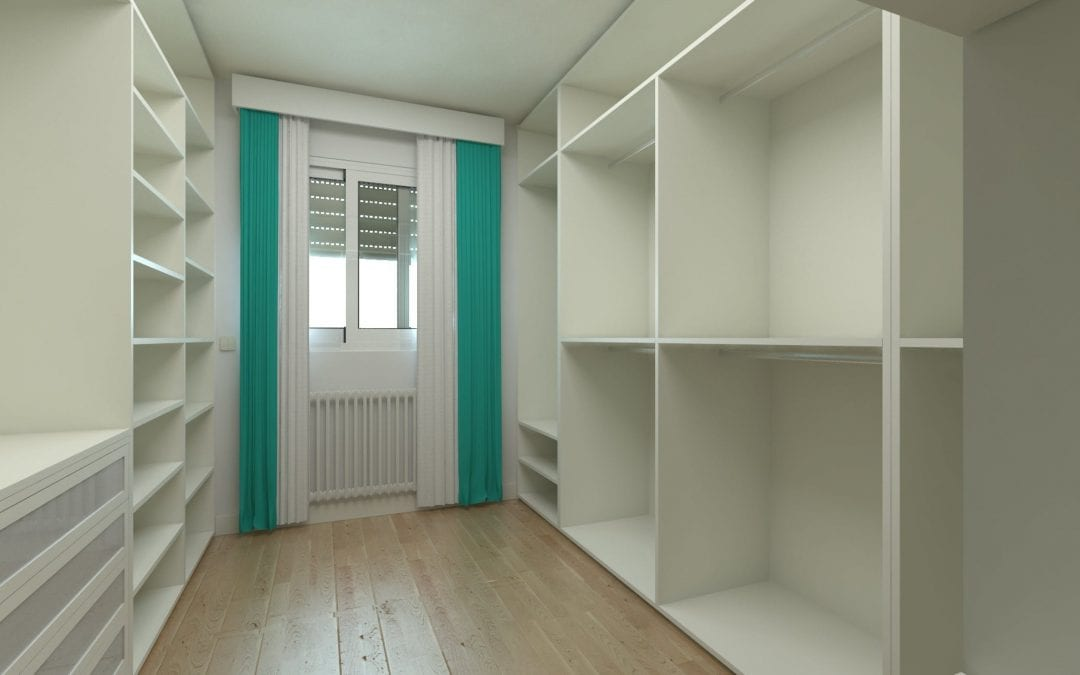 Image of a fitted wardrobe