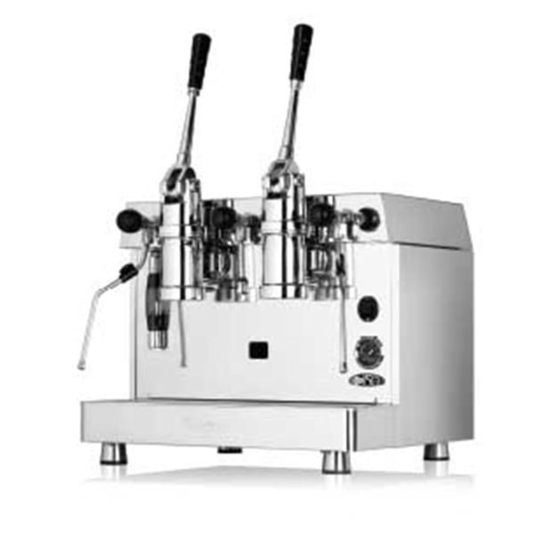 Fracino 2 Group Dual Fuel Retro Lever Espresso Machine