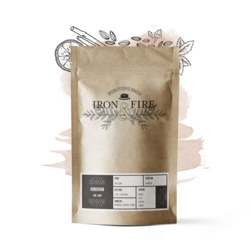 Honduran hand roasted speciality coffee, roasted by Iron & Fire speciality coffee roaster