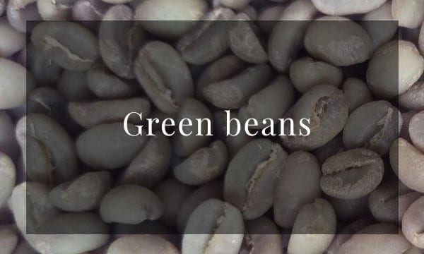 buy green coffee beans for home roasting from Iron & Fire