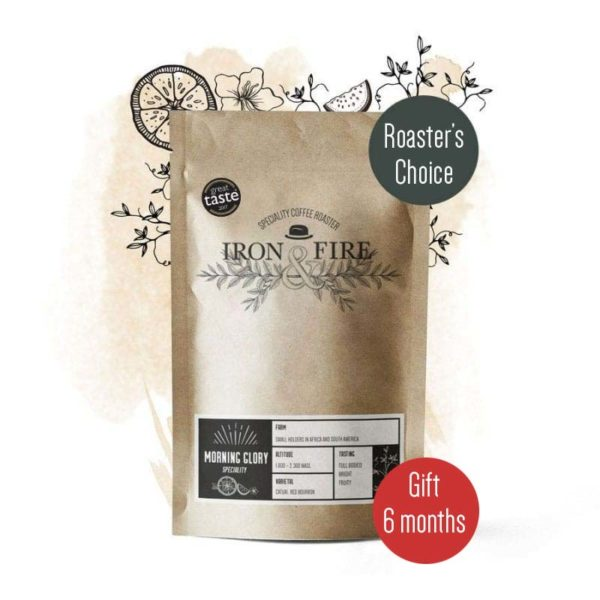 roasters choice coffee subscription gift 6 months