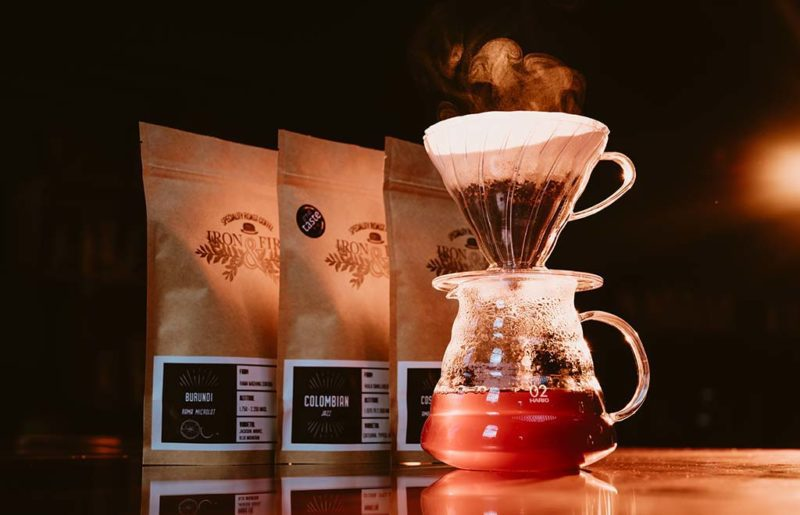 Iron and Fire speciality coffee roasters - enjoy coffee at home