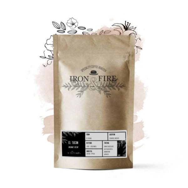 Organic decaf speciality coffee beans