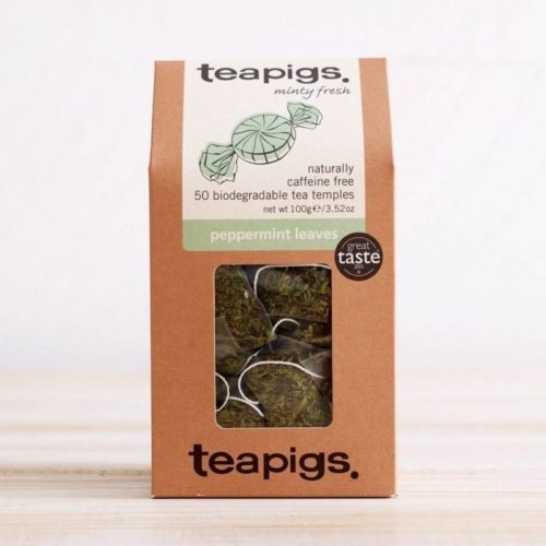 Teapig peppermint leaves