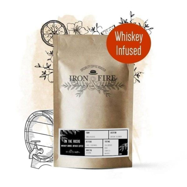 whiskey infused coffee beans